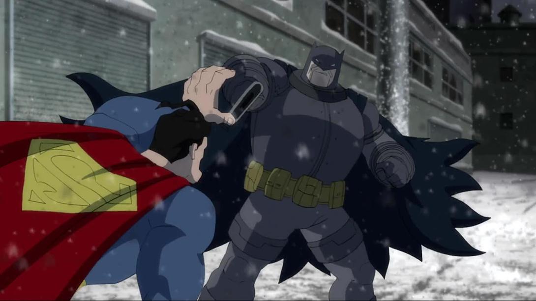 The Dark Knight Returns: Batman Vs Superman