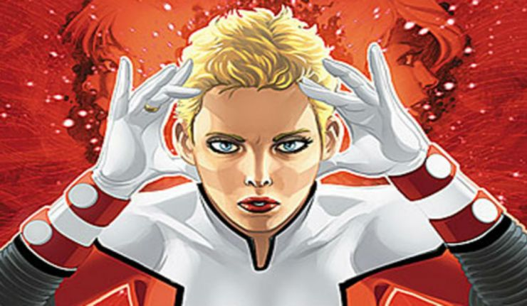 Saturn Girl cast on Supergirl DC Comics News