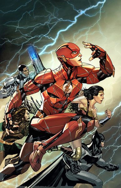 THE FLASH variant cover by Mike McKone on sale Nov. 8
