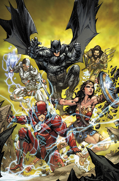 JUSTICE LEAGUE #32 variant cover by Howard Porter on sale Nov. 1