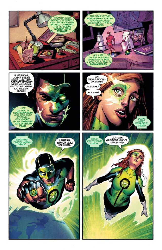 Review: Green Lanterns #33