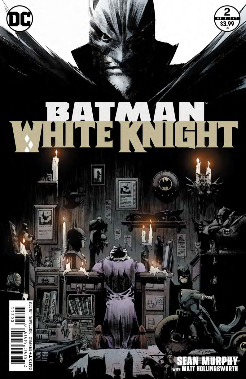 Batman White Knight Cover - DC Comics News