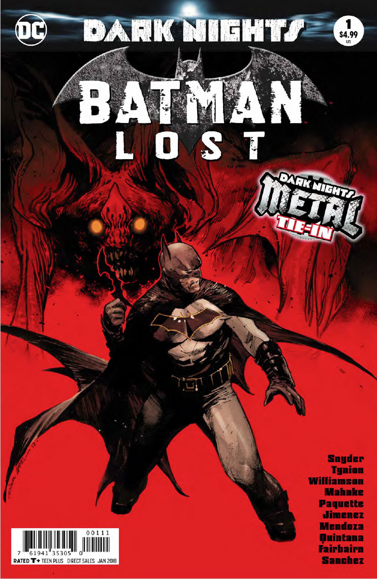 Batman Lost Cover - DC Comics News
