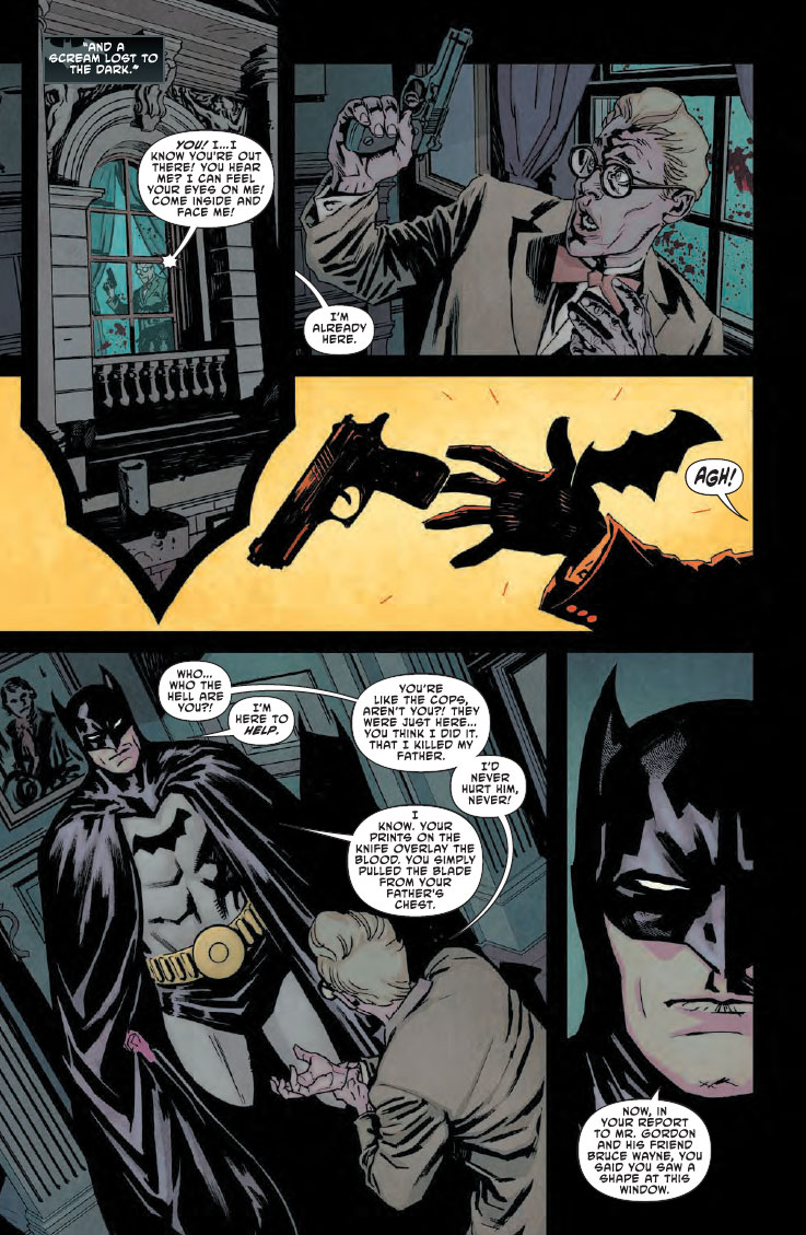 Batman Lost 5 - DC Comics News