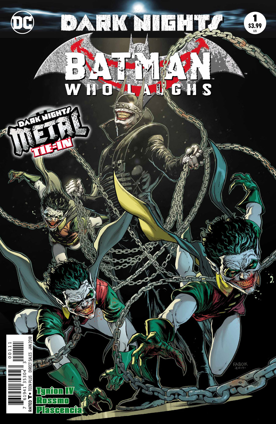 The Batman Who Laughs Cover - DC Comics News