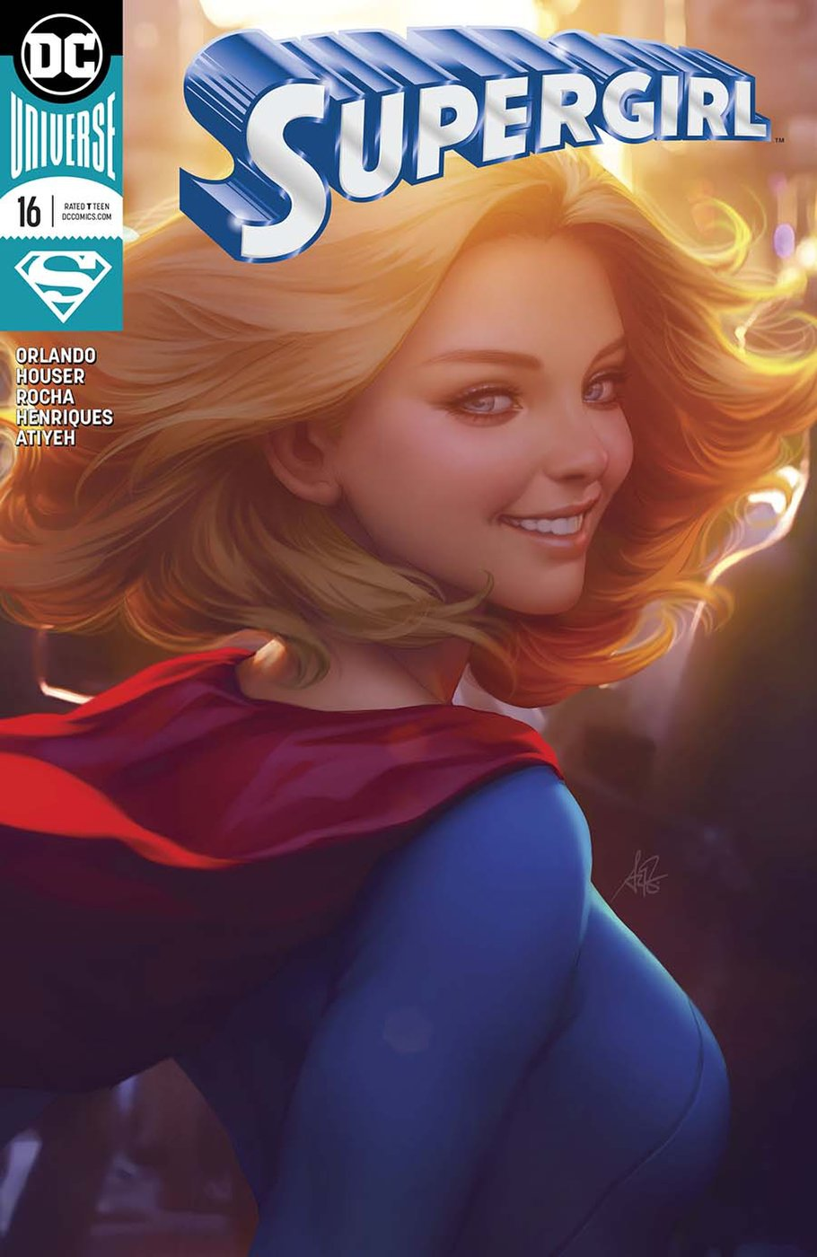 supergirl dc comics news