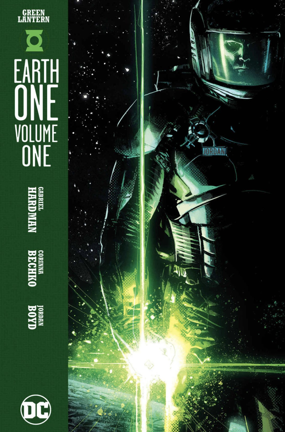 Green Lantern Earth One - DC Comics News