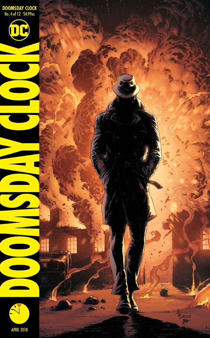 Doomsday Clock 4 - DC Comics News