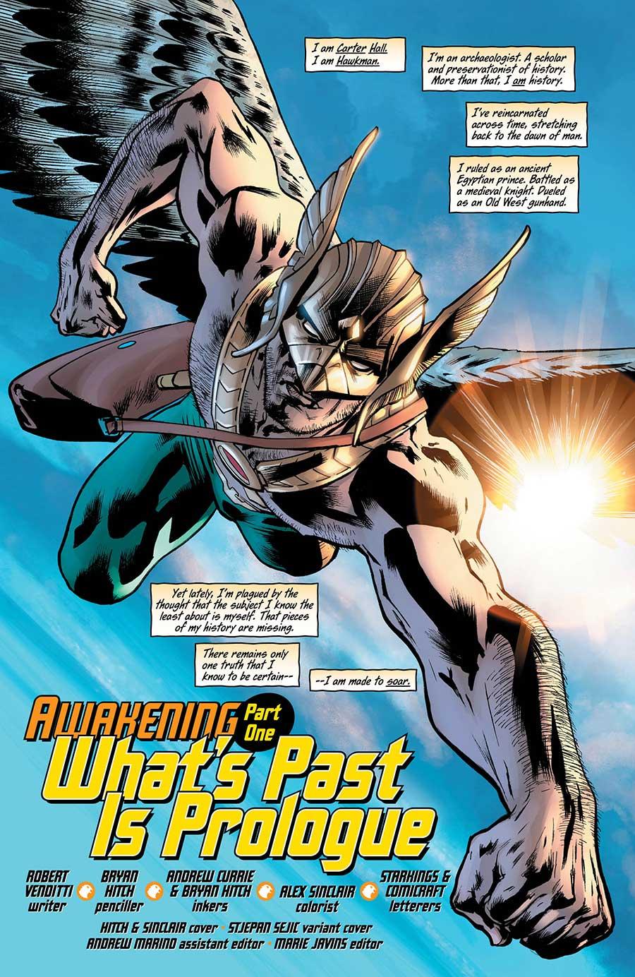 Hawkman 1 - DC Comics News
