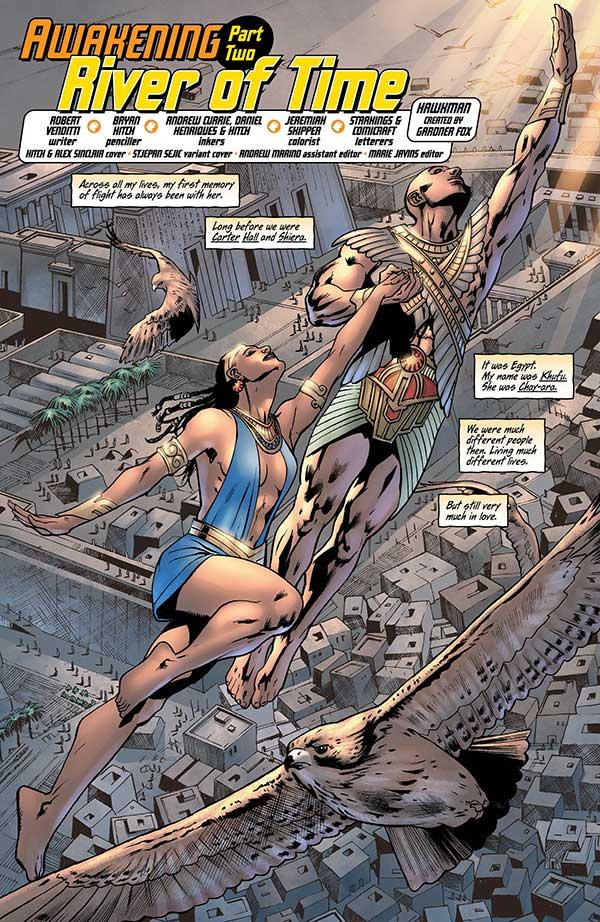 Hawkman 2_1 - DC Comics News