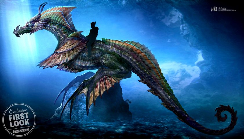 Sea Dragon - DC Comics News