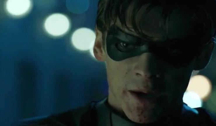 Titans TV show Robin Batman dc comics news