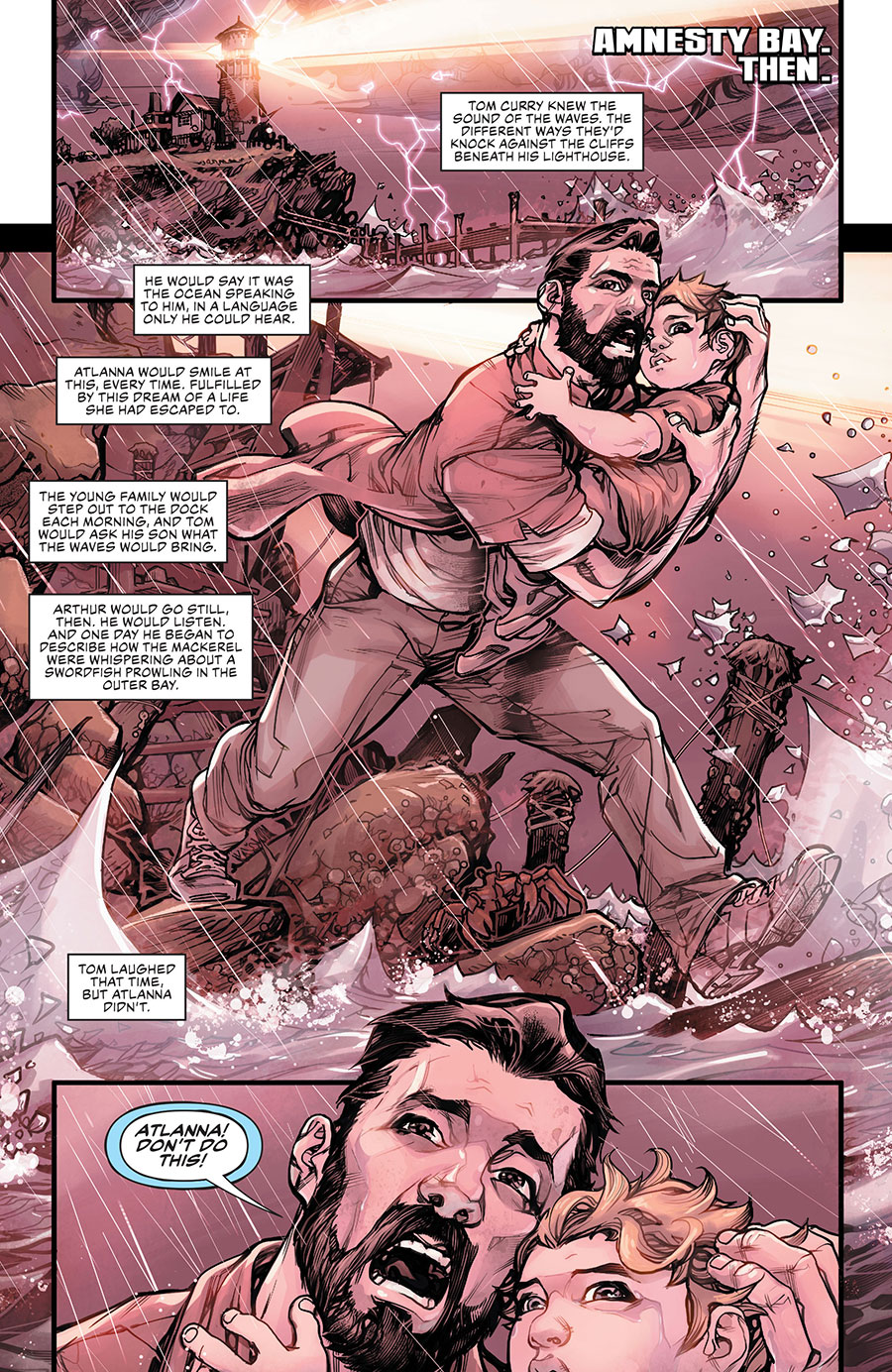 Drowned Earth 1 - DC Comics News
