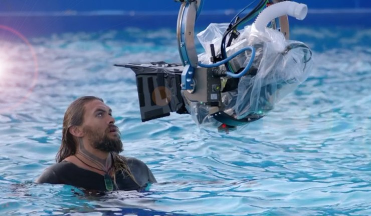 Aquaman behind the scenes dc comics news