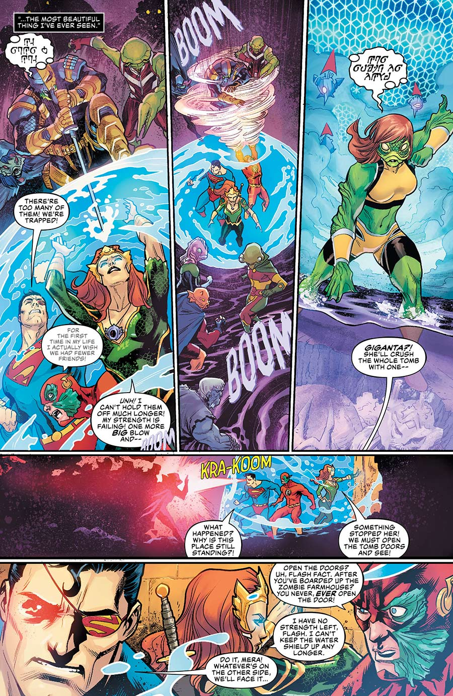Aquaman Drowned Earth - 1-4 - DC Comics News