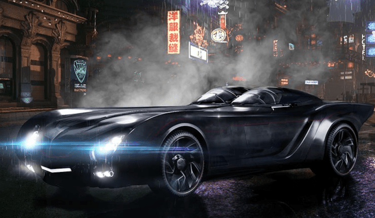 Titans Batmobile dc comics news