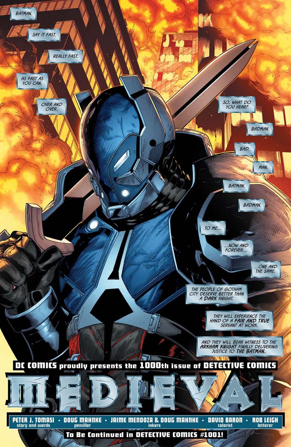detective 1000 dc comics news