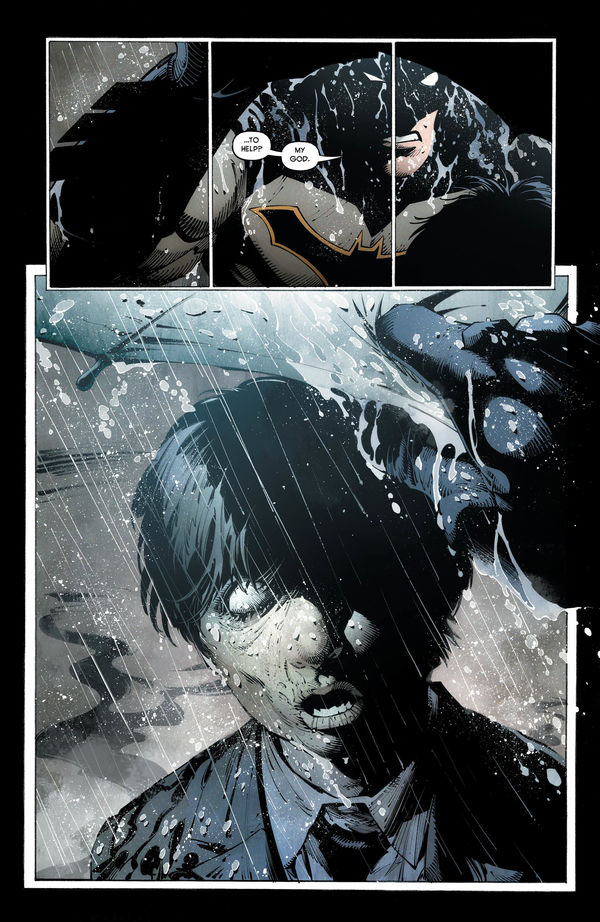 Batman dealing with his past in Batman: Last Knight on Earth