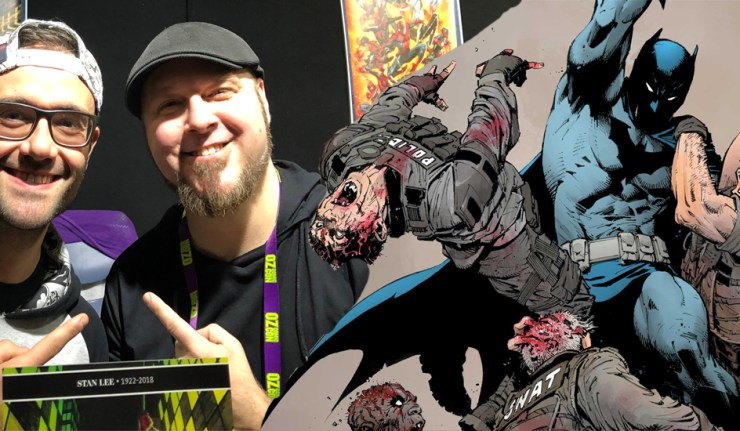 tom taylor interview oz comic con dc comics news