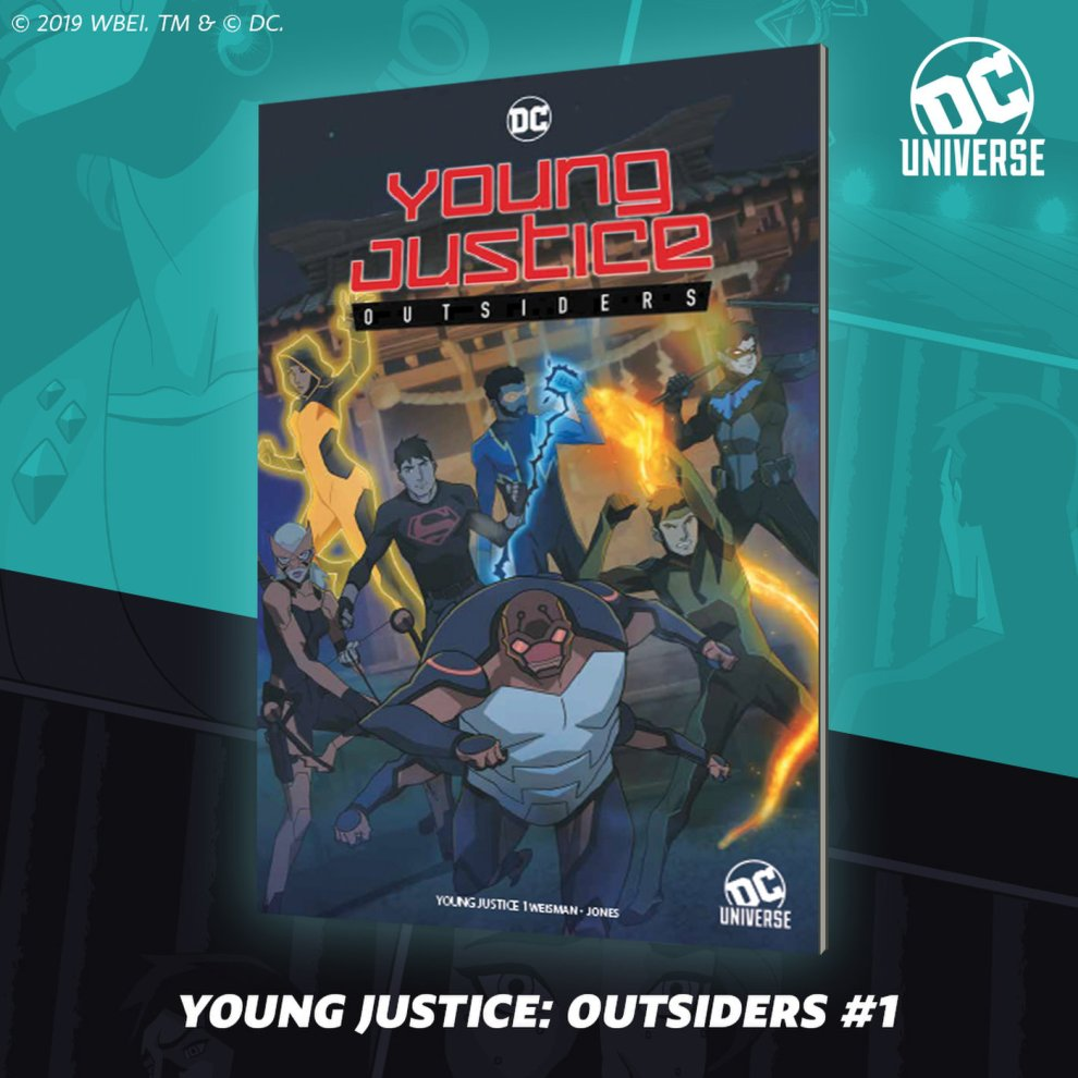 Young Justice SDCC Variant