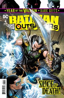 Batman and the Outsiders #4 cover