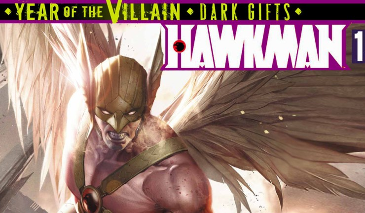 Hawkman 15 Header