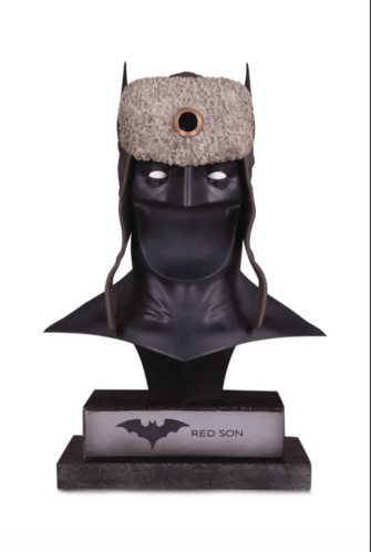 Batman Red Son Cowl dc collectibles