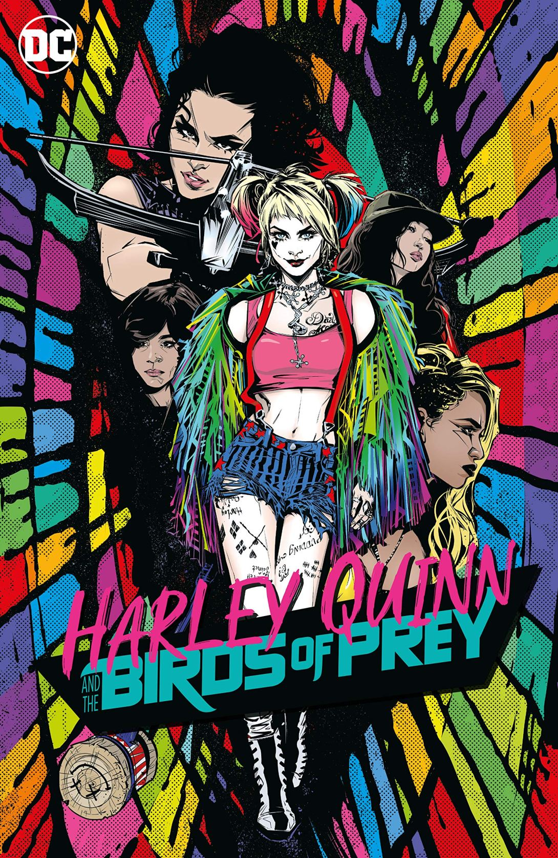 Harley Quinn Birds of Prey graphic novel