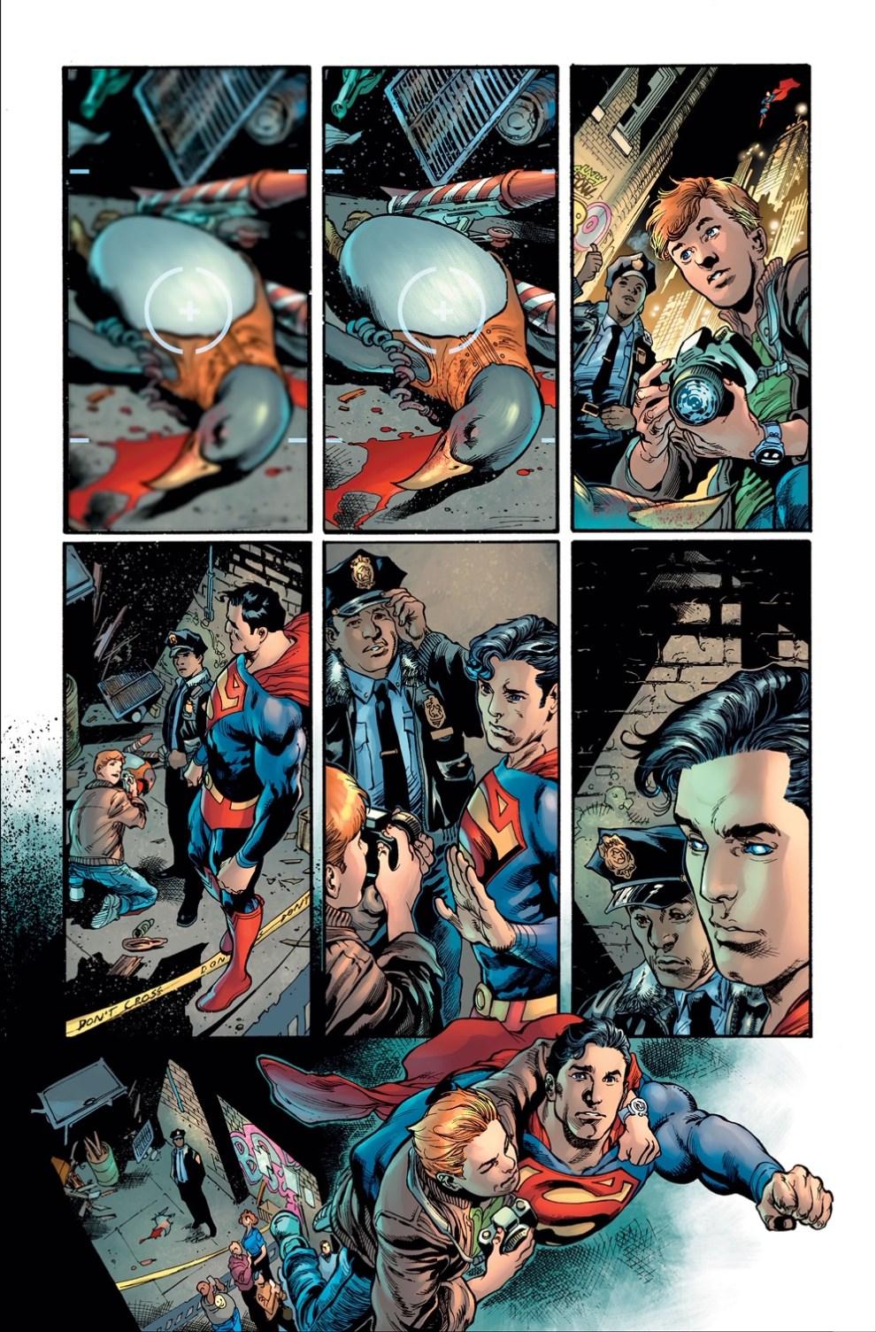 Superman #18 is written by Brian Michael Bendis with art by Ivan Reis and Joe Prado