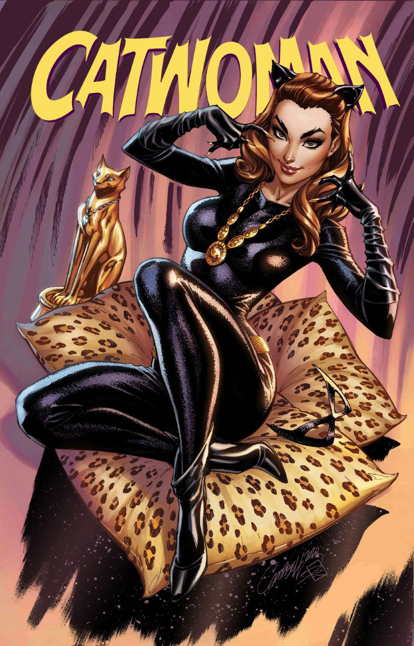1960s variant cover by J. SCOTT CAMPBELL