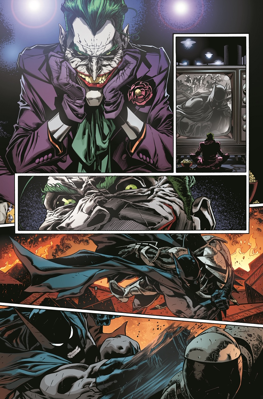 Detective Comics #1024 is written by Peter J. Tomasi with art by Brad Walker and Andrew Hennessy