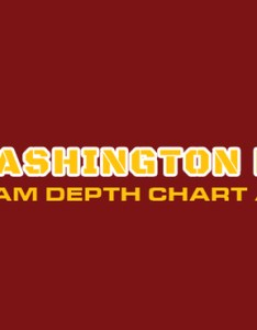 also washington redskins depth chart rh dailyfantasycafe