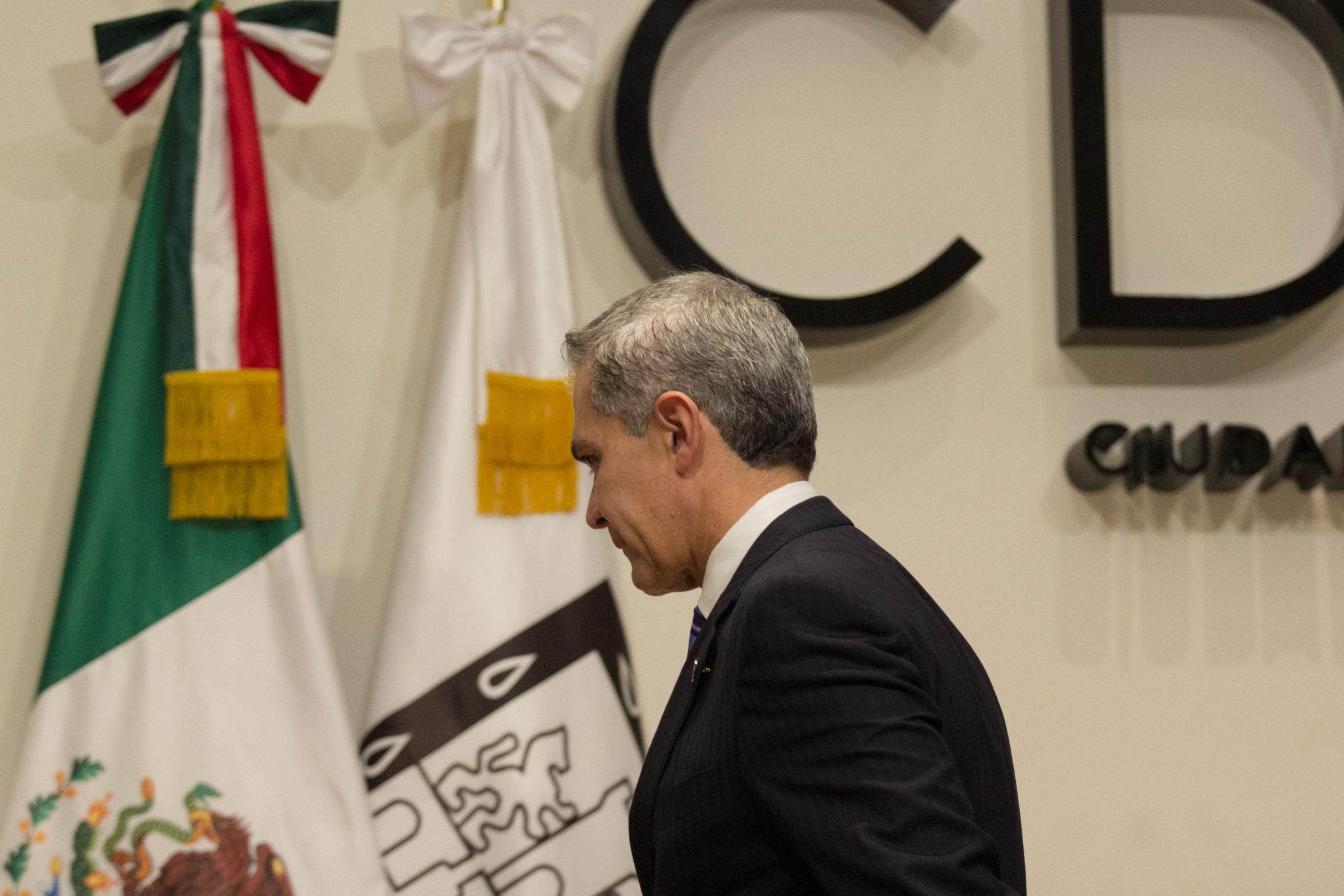 Mancera pide agotar líneas de investigación en caso Anaya