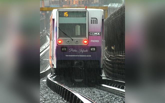 Suspenden servicio en la Línea 3 del Metro #VIDEO