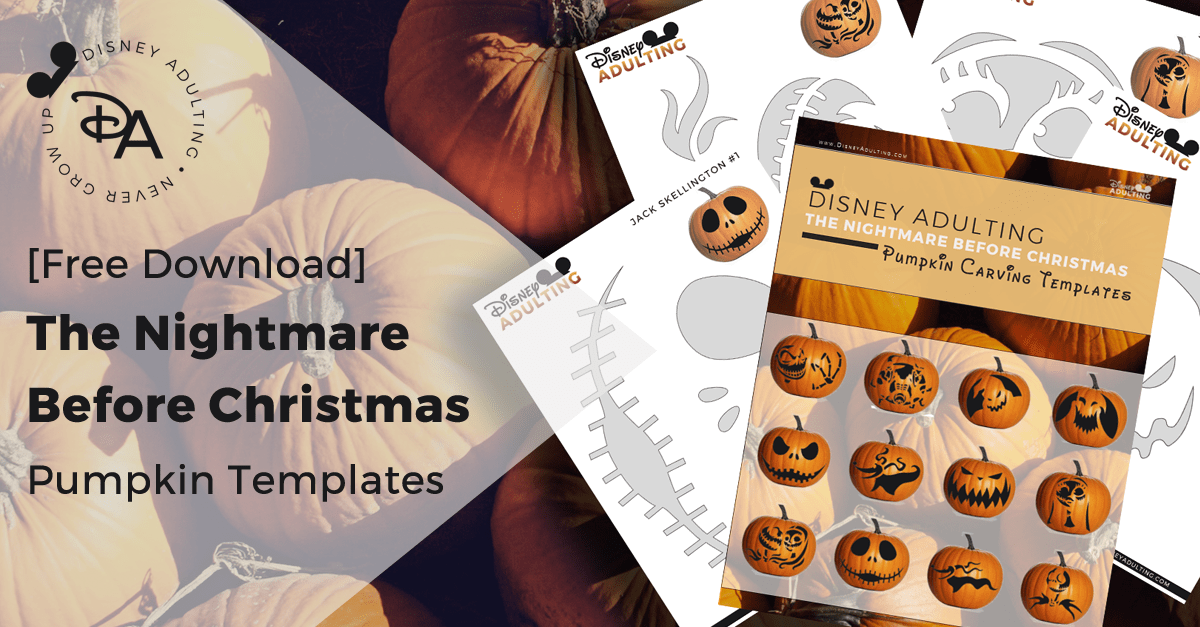 Free Download The Nightmare Before Christmas Pumpkin