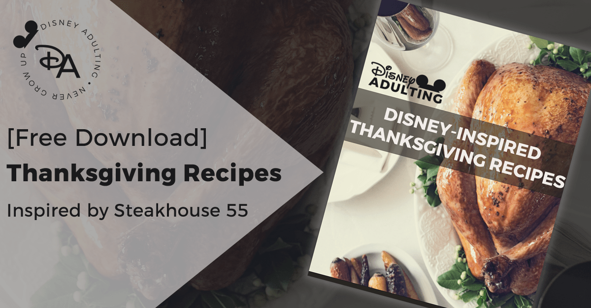 Disney Thanksgiving Recipes