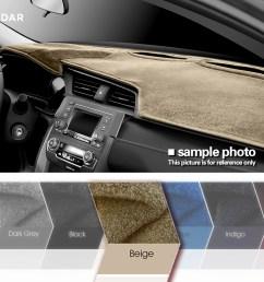 details about fedar beige dash cover dashboard pad mat for nissan pickup 87 93 pathfinder [ 1060 x 800 Pixel ]