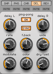 How to Make an Electric Piano in Spire_11 - Delay FX