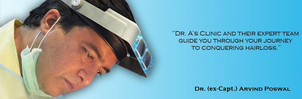 dr arvind poswal hair transplant india
