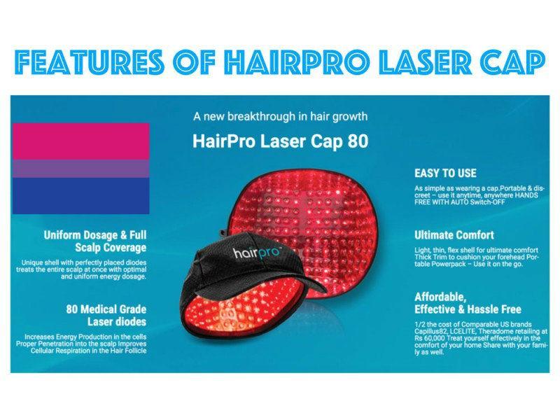 hairpro laser hair growth india