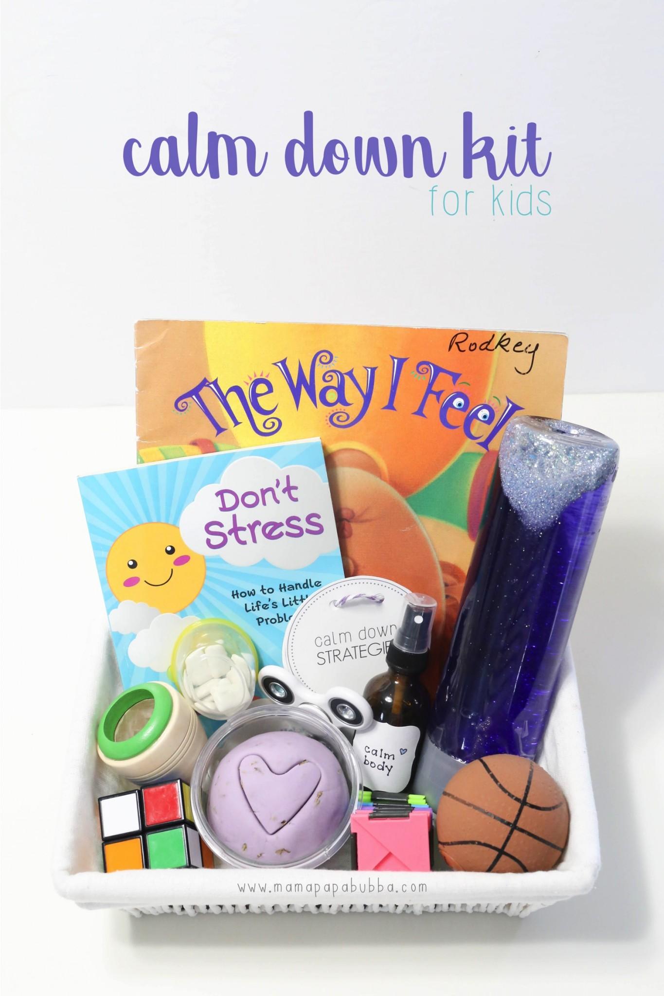 Calm Down Kit For Kids