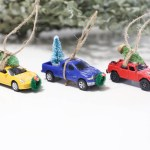Homemade Christmas Truck Ornaments Mama Papa Bubba