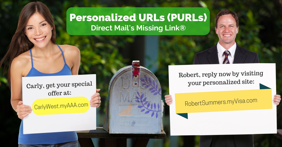 PURL Software: Add PURLs (Personalized URLs) to Your Direct Mail & Generate More Leads!