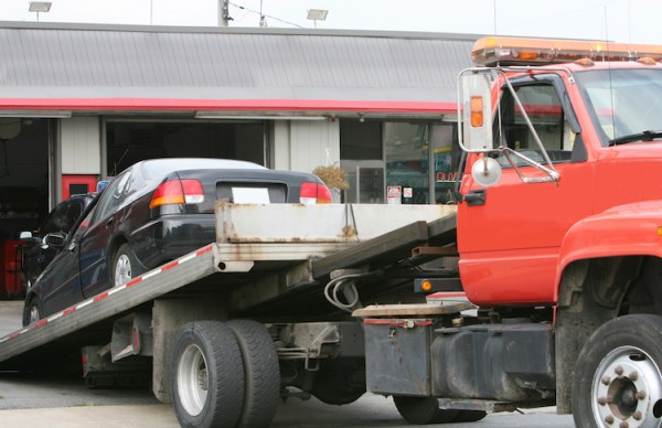 Recovering a Towed Car