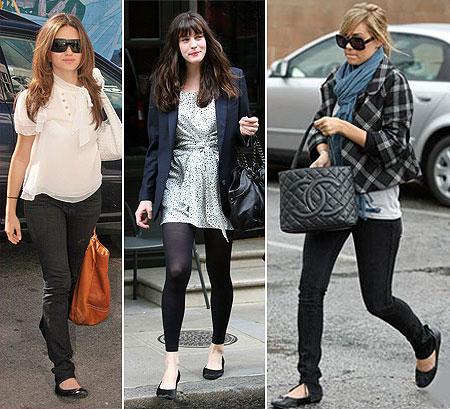 艾瑪華森和麗芙泰勒的最愛!一年四季都能穿出門的芭蕾平底鞋 | 芭蕾平底鞋、娃娃鞋、名人、明星、艾瑪 ...
