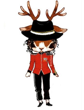 一眼愛上!超萌的森林系少女小鹿 ─ Ruby Nan | 繪畫、動物、萌、鹿、Ruby Nan | 生活發現 | 妞新聞 niusnews