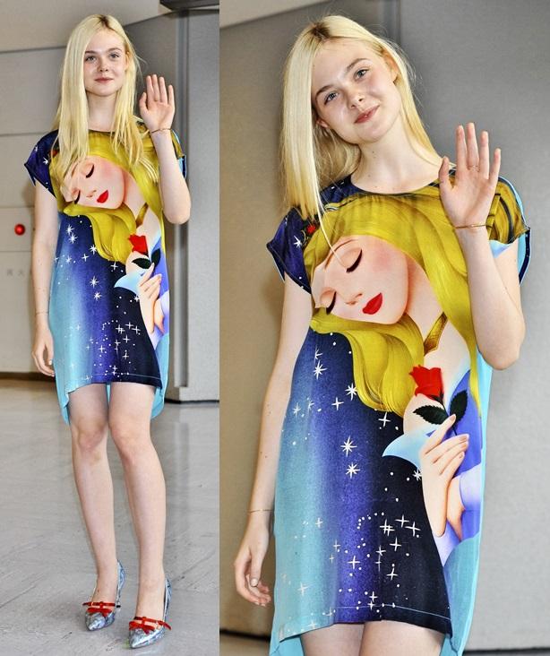 沒演電影穿得更像公主!艾兒芬妮10套經典美衣Look   艾兒芬妮、時尚、首映、美麗、美人計   美人計   妞新聞 ...