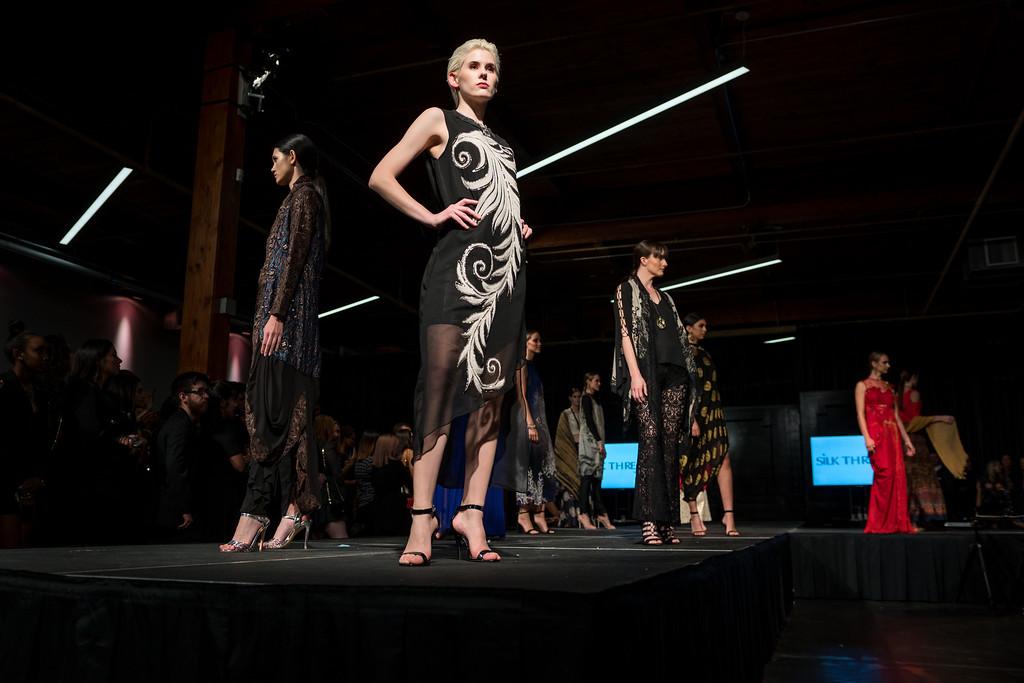 Ruby Bhandari Silk Threads Gala, fashion show, indian fashion, dallas