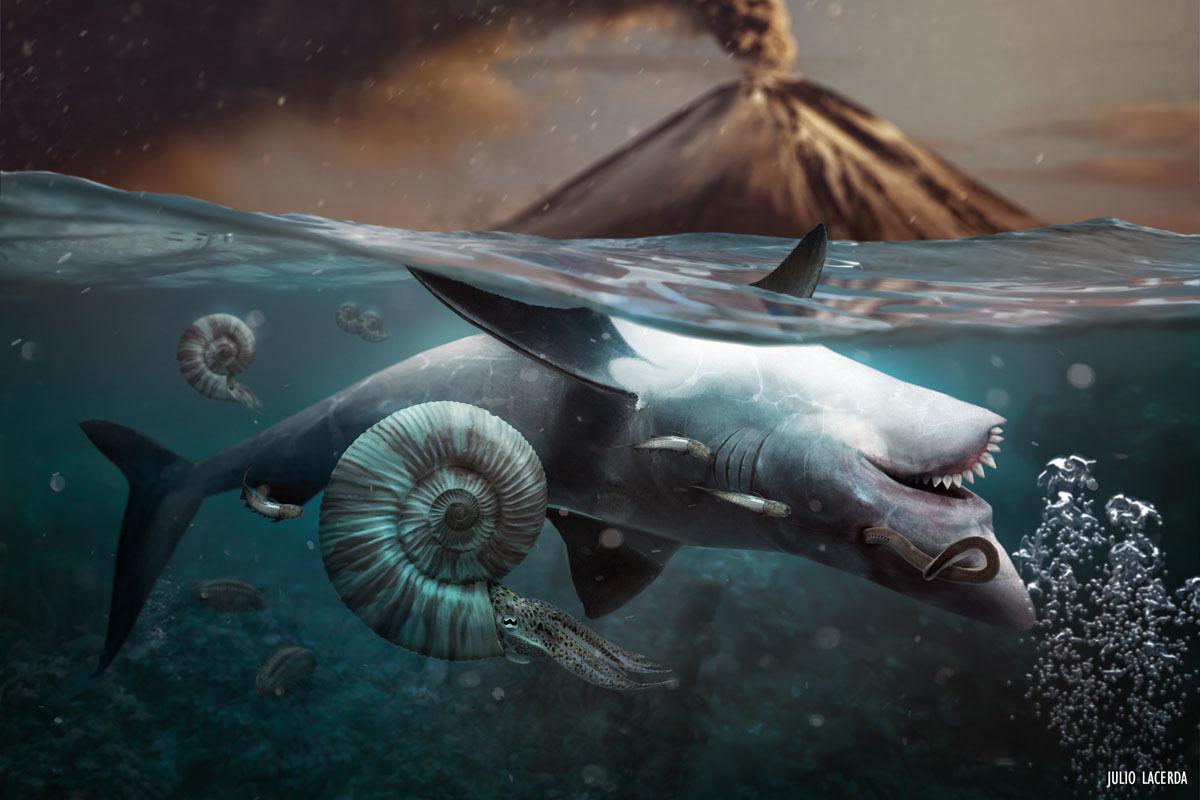 Resultado de imagem para permian extinction paleoart