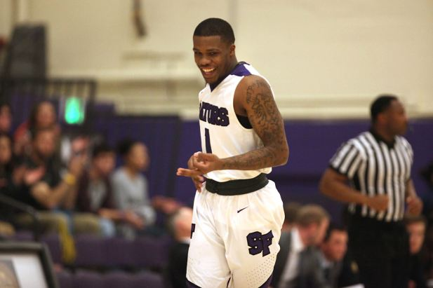 Guard Warren Jackson and the SF State Gators men's basketball team take on California Baptist Friday evening in their first NCAA Division II tournament game since 1994.